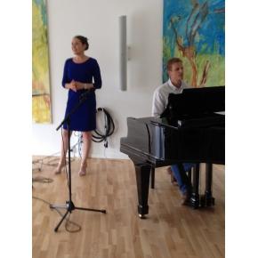 Anne Cecilie Nesager og Kim Røge 7. juli 2015