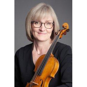 Violinist Karen Humle Jørgensen